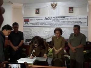 DPRD Minsel Gelar Paripurna Tingkat Kesatu Ranperda Hak Keuangan dan Adminstrasi Pimpinan dan Anggota DPRD1