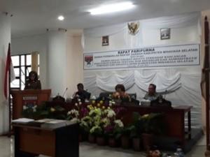 DPRD Minsel Gelar Paripurna Tingkat Kesatu Ranperda Hak Keuangan dan Adminstrasi Pimpinan dan Anggota DPRD2