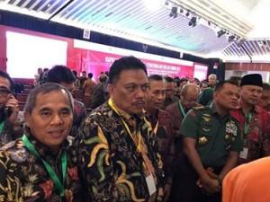 Bupati JWS Bersama Gubernur Olly Hadiri Rakornas TPID di Jakarta