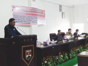 Disetujui Lima Fraksi, Bupati Sumendap Ajukan LPJ 2016 ke DPRD Mitra