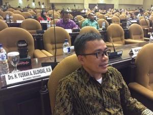 Ir Stefanus BAN Liow,  salah satu anggota Komite III DPD-RI