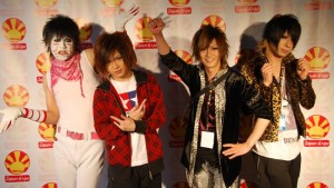 band Visual Key Air , Golden Bomber, band aneh, jepang
