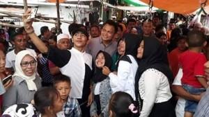 Hadiri Halal Bi Halal di Desa Borgo, Wabup Kandoli Disambut Antusias Warga Muslim