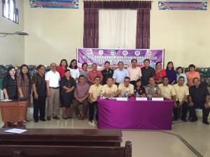 Penyuluhan Hukum dan Pendidikan Politik Rayon Minahasa di GMIM Pniel Kaweng Kakas Sabtu (8/7/2017)