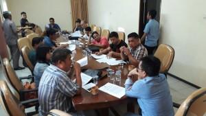 Kunker, Senator SBAN Liow Serap Aspirasi Insan Pers di Manado