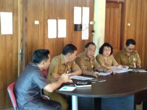 Rapat di Kantor Dinas Koperasi dan UMKM