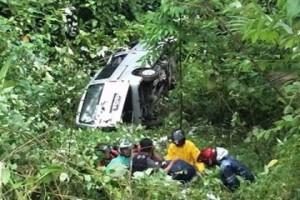 Kecelakaan Gunung Potong, jalan Gunung Potong