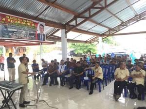 Senator SBAN Liow Sosialisasi Empat Pilar MPR-RI di Minahasa Utara