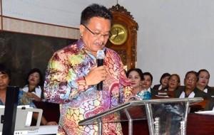 GMIM SION Madidir Ure,  Pdt Raymond C Manopo,