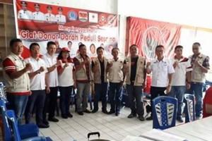 PMI Mitra ,Baguna PDI-P , Donor Darah Peduli Sesama