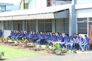 Para warga binaan di Lapas Anak Kolongan