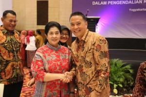 Wali Kota Tomohon bersama Menteri Kesehatan RI
