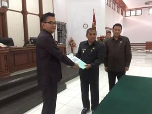 Pemkab Minahasa Ajukan KUA-PPAS 2018 ke DPRD Minahasa