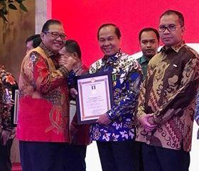 Penghargaan Bakti Koperasi ,UKM 2017