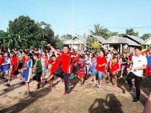 Peringati HUT RI ke-72, Kecamatan Pusomaen Gelar Bermacam-macam Lomba