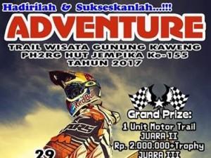 GMIM Kaweng, Kecamatan Kakas,  JS Racing , Trail Adventure ,Wisata Gunung Kaweng