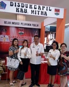 Pertama Terbitkan KIA di Sulut, Wagup Kandow Apresiasi Inovasi Pelayanan Disdukcapil Mitra