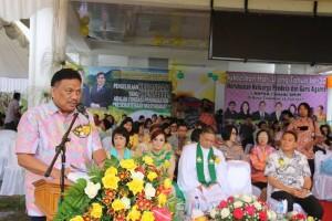 Gubernur Sulut Olly Dondokambey memberikan apresiasi atas Opini WTP dan Harmony Awards