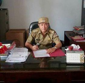 Kepala kecamatan Tombariri Ricky Laloan SH
