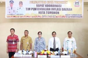 Rapat Koordinasi Tim Pengendalian Inflasi Daerah Kota Tomohon
