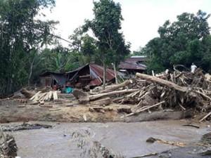 Banjir Bandang ,Desa Tambelang,  gunung Konarom ,Gunung Tadoi