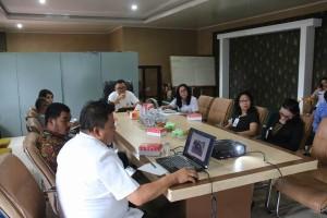 Pembahasan TIFF dipimpin Kepala Bapelitbang Ir Ervinz DH Liuw MSi