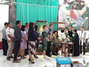 JFE dan SAS jadi saksi baptisan