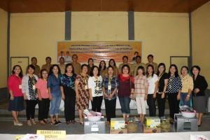 Pelatihan pencari kerja yang dilaksanakan Dinas Tenaga Kerja Kota Tomohon