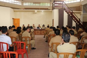 Rapat Kerja jajaran Pemkot Tomohon pasca libur Idul Fitri dan cuti bersama