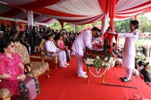 Olly Irup HUT Kemerdekaan RI ke-72 Tingkat Provinsi Sulut