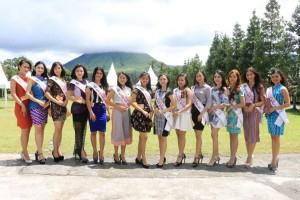 14 Kontestan Ratu BUnga Nusantara 2017