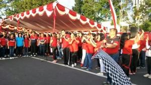 Bupati JWS Canangkan Rangkain Kegiatan HUT RI ke-72 di Minahasa