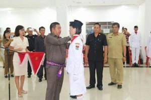 Paskibra Minahasa Tenggara, Paskibra mitra 2017