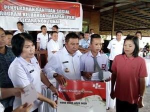 Bantuan Sosial ,Program Keluarga Harapan, PKH minahasa tenggara