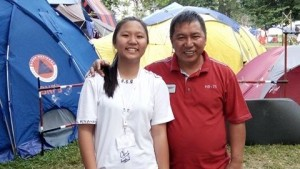 Bupati Sumendap Dukung Langsung Kwarcap Pramuka Mitra Ikut Raimuna Nasional di Cibubur