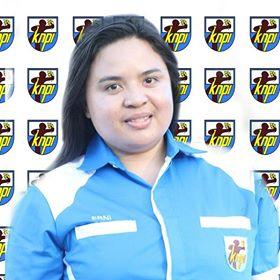 Ketua DPD KNPI Mitra,  KNPI Minahasa tenggara,Erni Kumesan SPd.