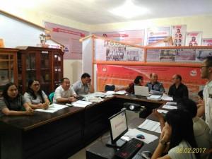 Rapat Pleno Penetapan Pedtek dan Sosialisasi Parmas
