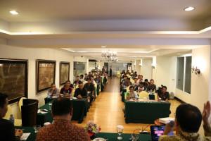 Dihadiri Ketua Dewan Pers, Biro Protokol KKP Sulut Gelar Gathering Mass Media