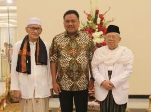 Ketua Umum Majelis Ulama Indonesia (MUI) Prof. Dr (H.C). KH. Ma'ruf Amin