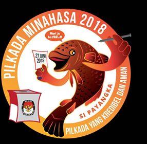 Ikan Payangka, Logo Resmi Pilkada Minahasa, Pilkada Minahasa