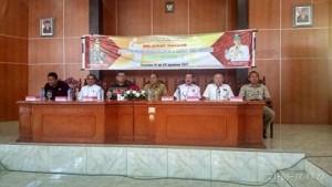 JWS Buka Penataran Pelatih dan Wasit Bola Voli Indoor Tingkat Nasional C di Tondano