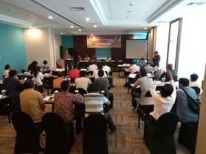 KPU Minahasa Gelar Raker Tahap Tiga, Tumbel dan Liando Jadi Pemateri