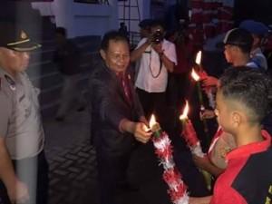 DPRD mitra, Drs Tavif Watuseke, upacara Taptu