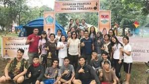 Jein Sumendap-Rende Dampingi Kontingen Pramuka Mitra pada Raimuna Nasional XI di Cibubur