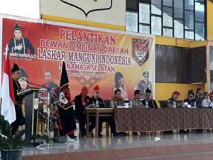 Laskar Manguni Indonesia, LMI ,Pdt Hanny Pantow , DPD LMI Minsel