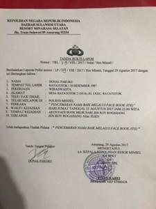 pencemaran Nama Baik,  Jen Roy Rogahang , james sumendap