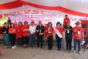 Dharma Wanita Persatuan Mitra ,  Ir Linda Sumenge,pantai Lumintang,