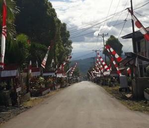Sambut HUT RI ke-72, Kecamatan Kumelembuai Bersolek