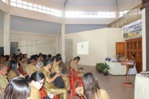 Kegiatan Pembentukan UPTD di lingkup Pemkot Tomohon