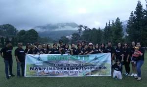 Tampil di Pawai Pembangunan, Unihealth Tomohon Ajak Masyarakat Hidup Sehat